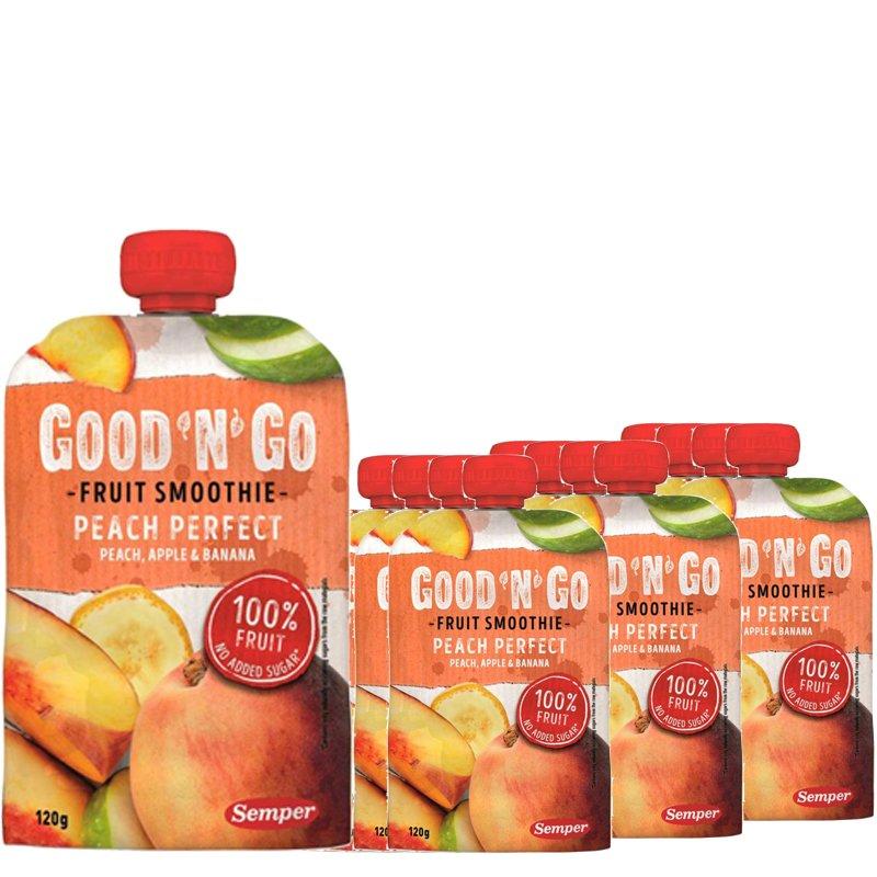 Fruit Smoothie Persika, Äpple & Banan 12-pack - 34% rabatt