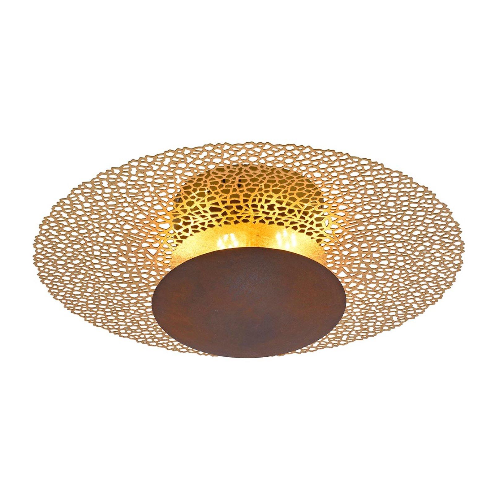 LED-taklampe Nevis, rund, Ø 45 cm