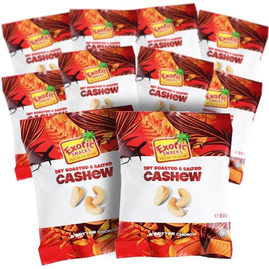 Cashewnötter 10-pack! - 39% rabatt
