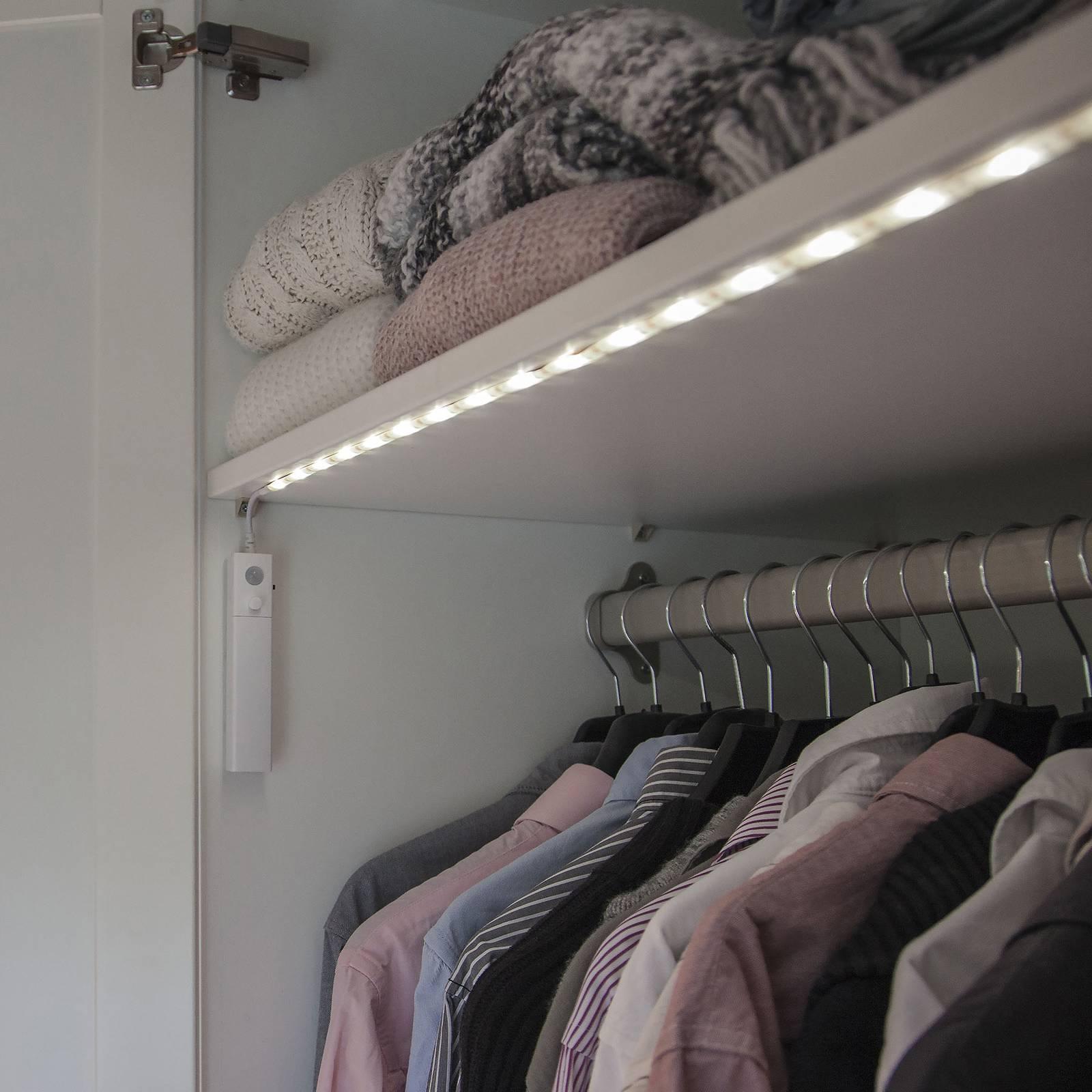 LED-valonauha liiketunnistimella, paristokäyt.