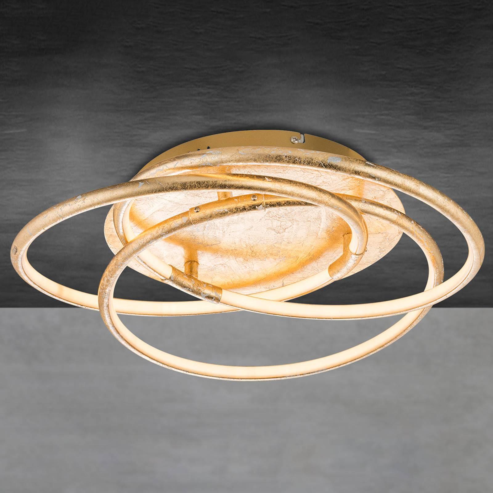 Barna – kultainen LED-kattovalaisin
