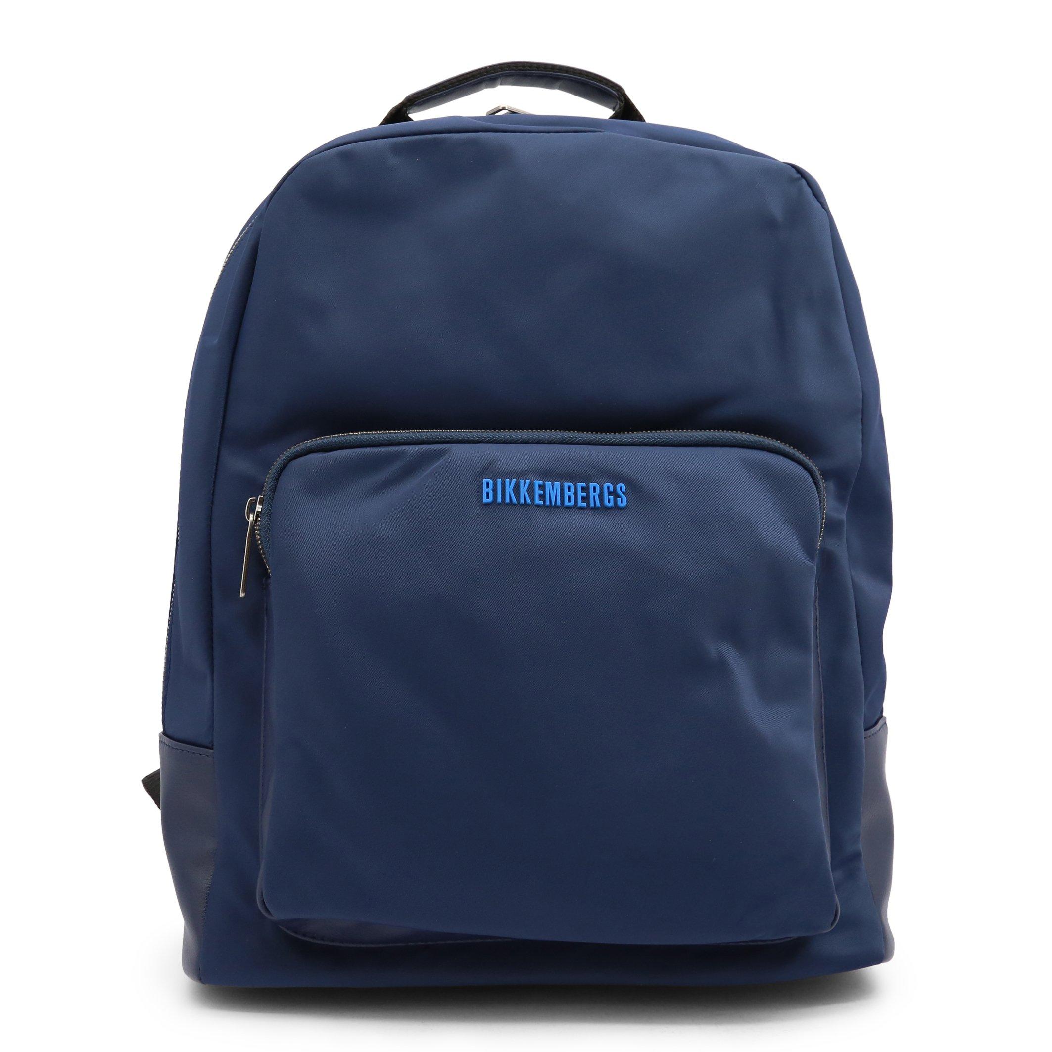 Bikkembergs Men's Backpack Various Colours E2BPME1Q0065 - blue NOSIZE