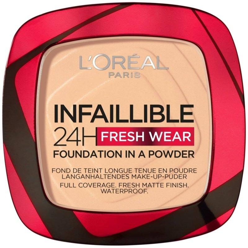 L'Oréal - Infaillible 24h Fresh Wear Powder Foundation - 40 Cashmere