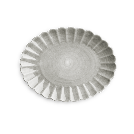 Oyster Fat Grå 35x30cm