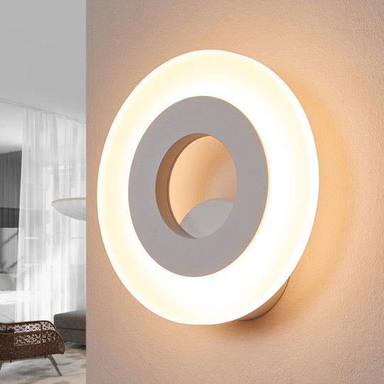 Helestra Jenna - pyöreä LED-seinävalaisin