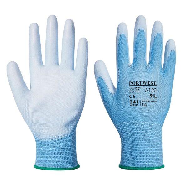 Portwest A120 Handske blå, PU XS
