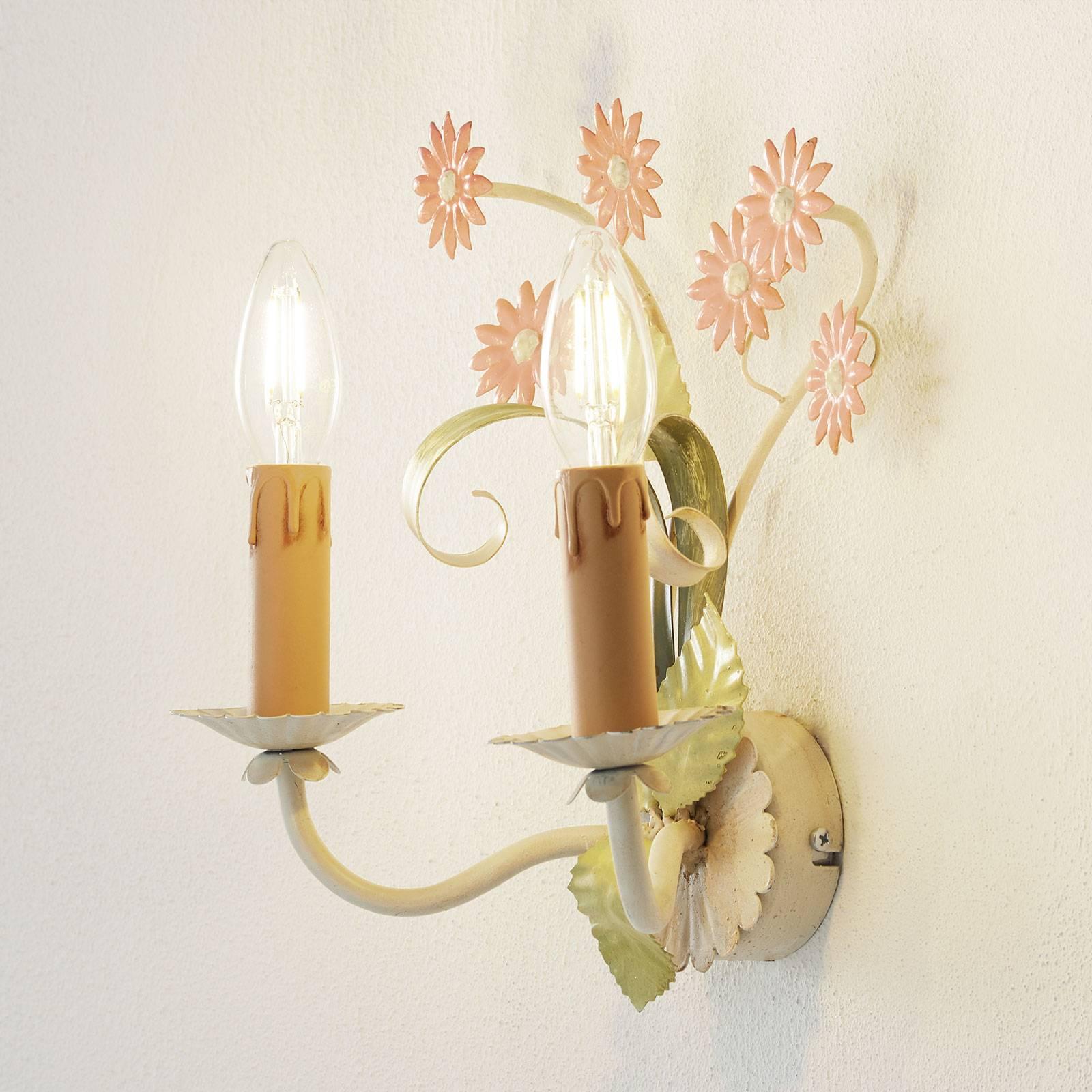 Seinävalaisin Toscana, 2-lamppuinen
