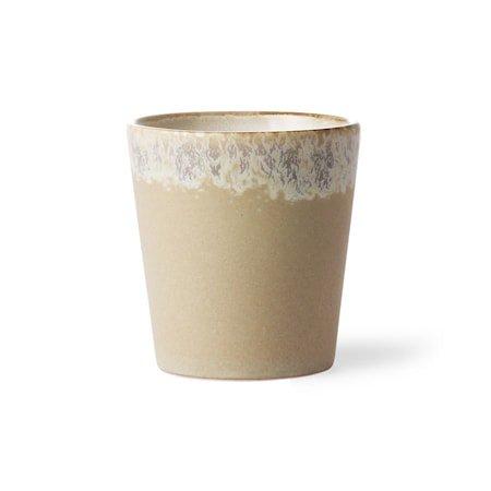 70's Keramikk Kopp Beige