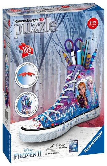 Ravensburger 3D-Puslespill Frozen 2 Sneakers 108 Biter