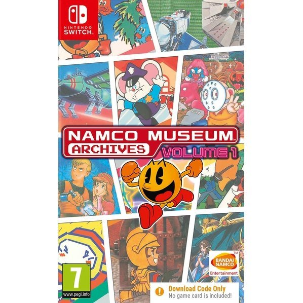 Namco Museum Archives Volume 1 (Code in a Box)