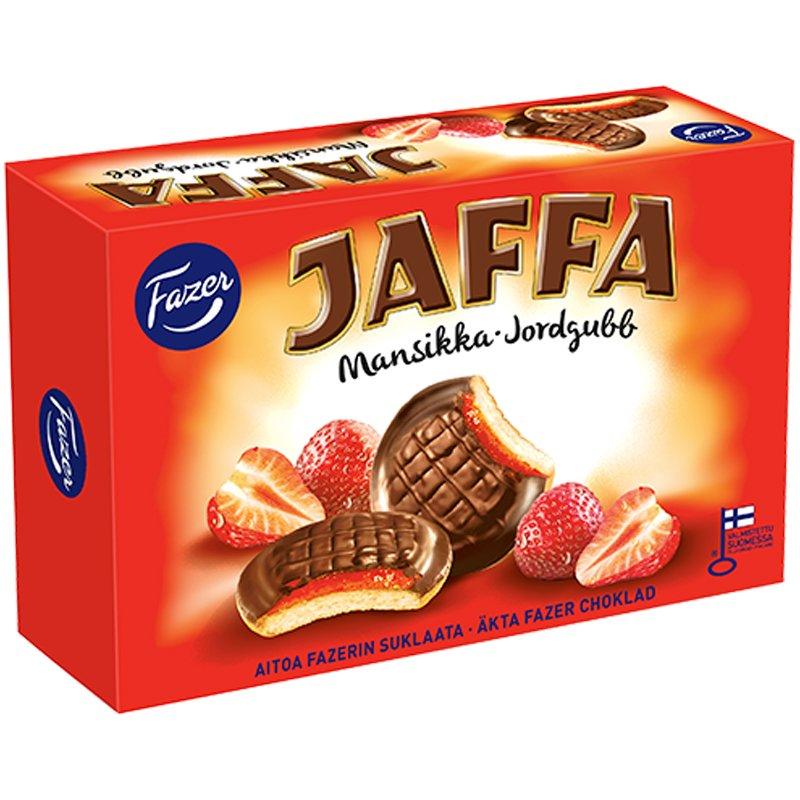Jaffa Mansikka Täytekeksi - 17% alennus