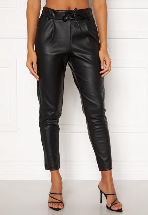 ONLY Poptrash Easy Coated Pant PNT Black S/32