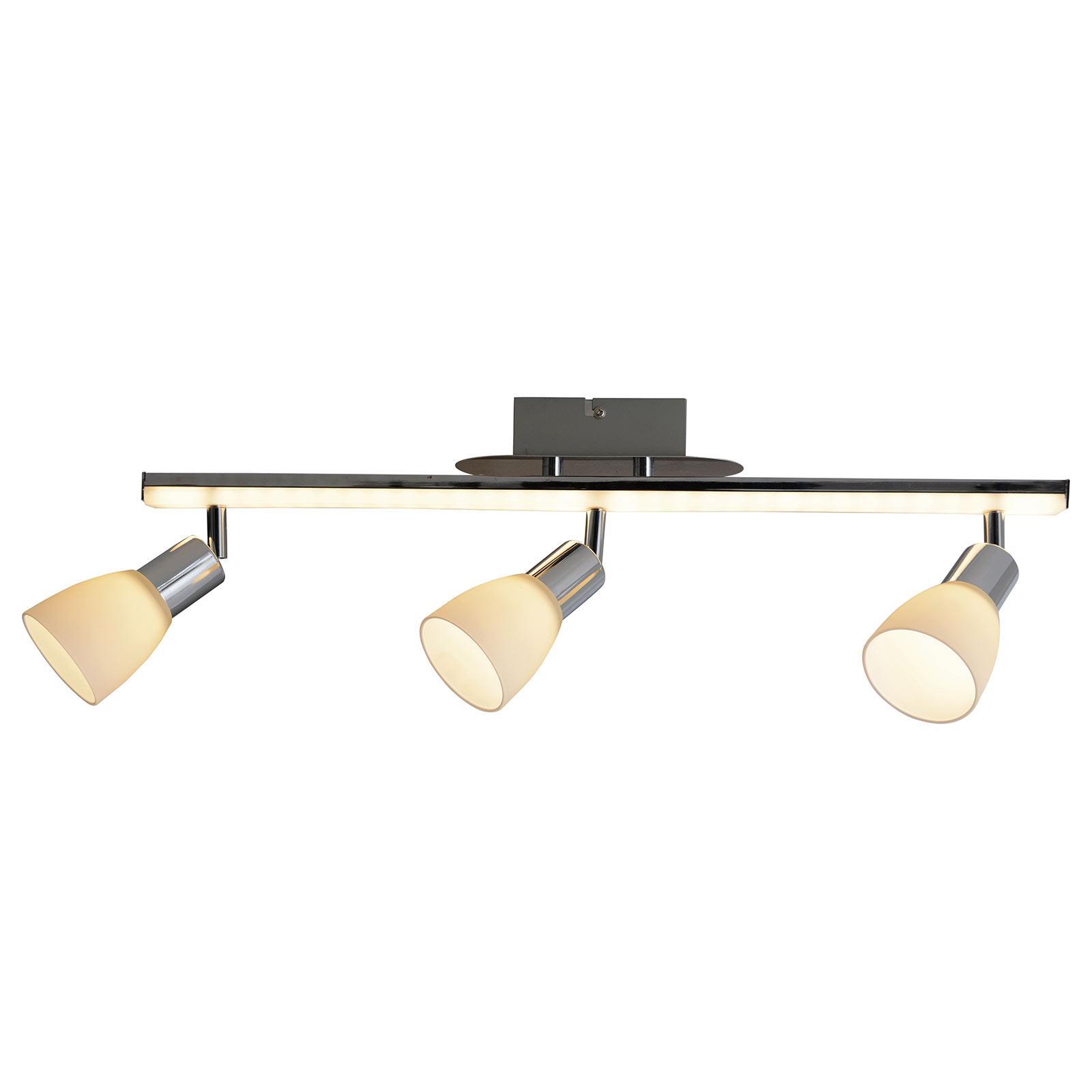 LED-kattovalaisin Ibiza, 3-lamppuinen