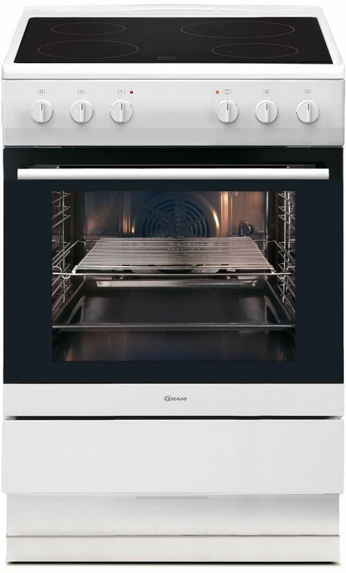 Gram Ek3600-90v Glaskeramikspis - Vit