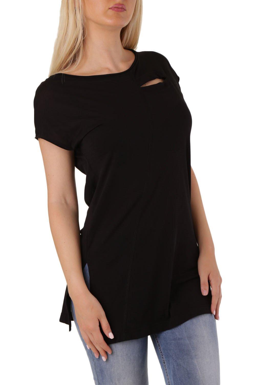 Diesel Women's T-Shirt Various Colours 294109 - black-1 S