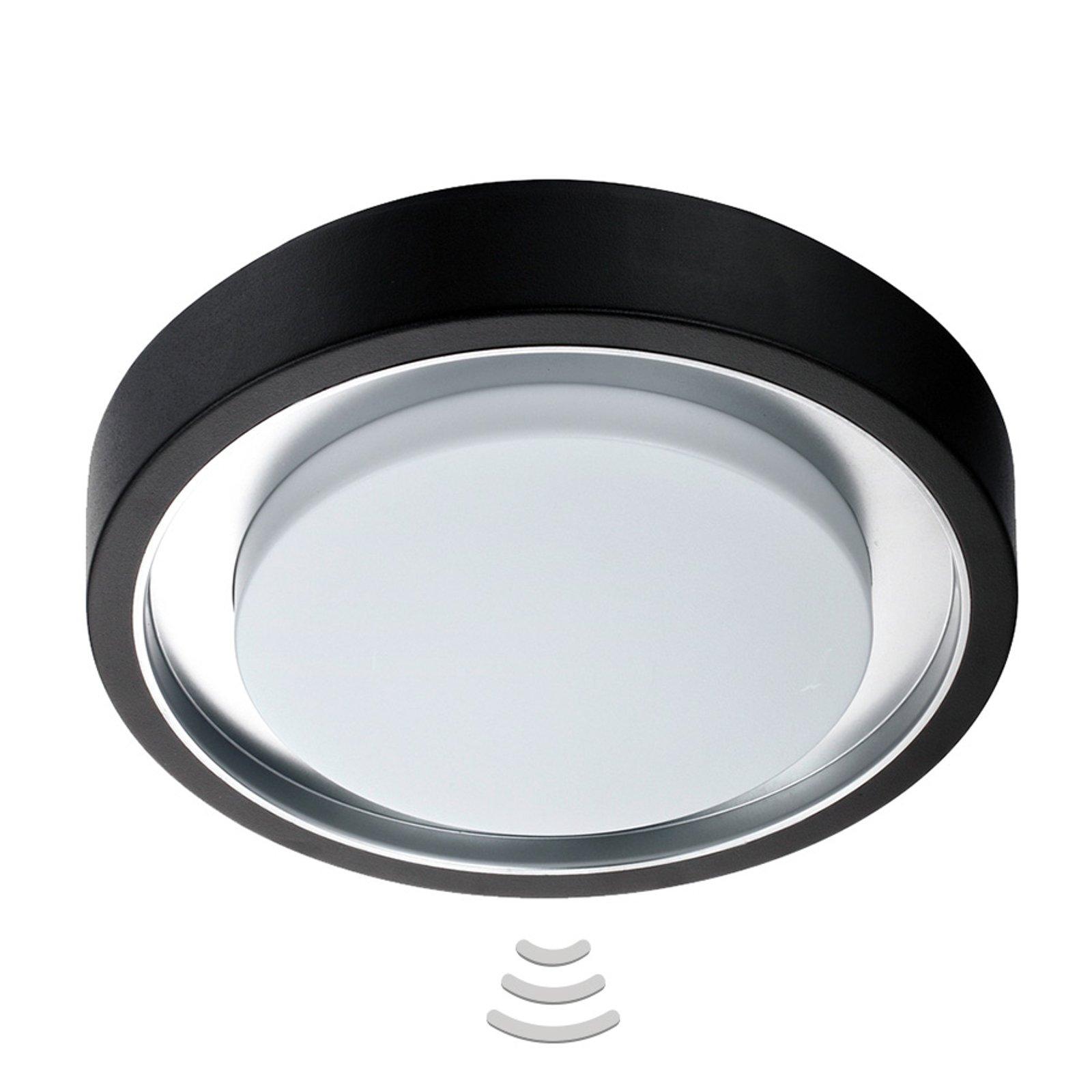 Utendørs taklampe LED Toki sensor