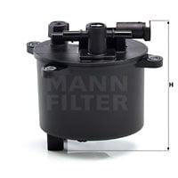 Polttoainesuodatin MANN-FILTER WK 12 004
