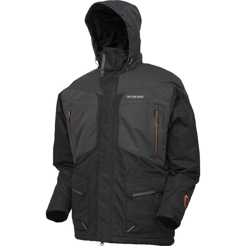 Savage Gear HeatLite Thermo Jacket XXL Black - Teknisk og slitesterk jakke