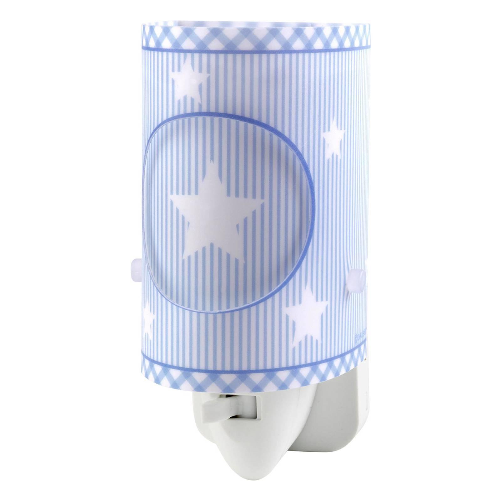 Sweet Dreams – sininen LED-yövalo katkaisijalla
