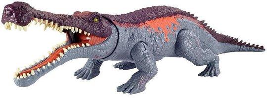 Jurassic World Figur Sarcosuchus Primal Attack