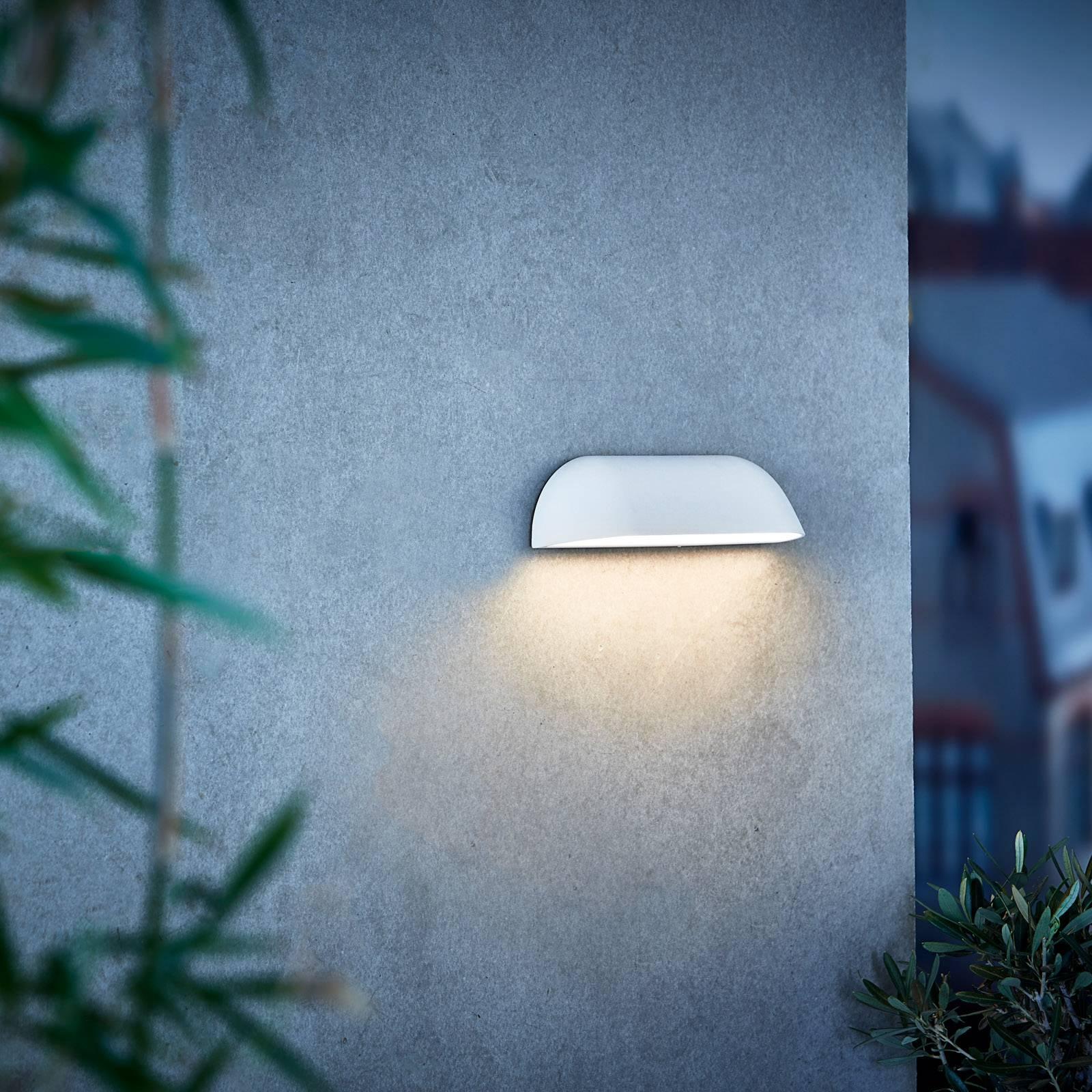 LED-ulkoseinävalaisin Front 26, valkoinen