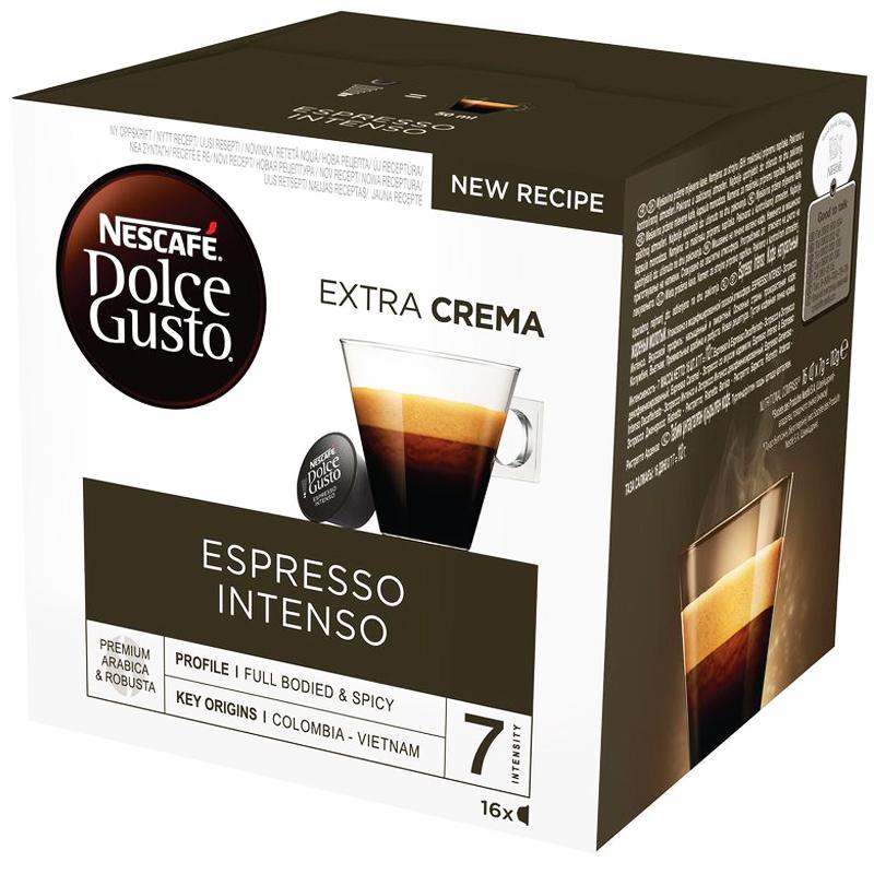Kahvikapseli Espresso Intenso 16kpl - 23% alennus