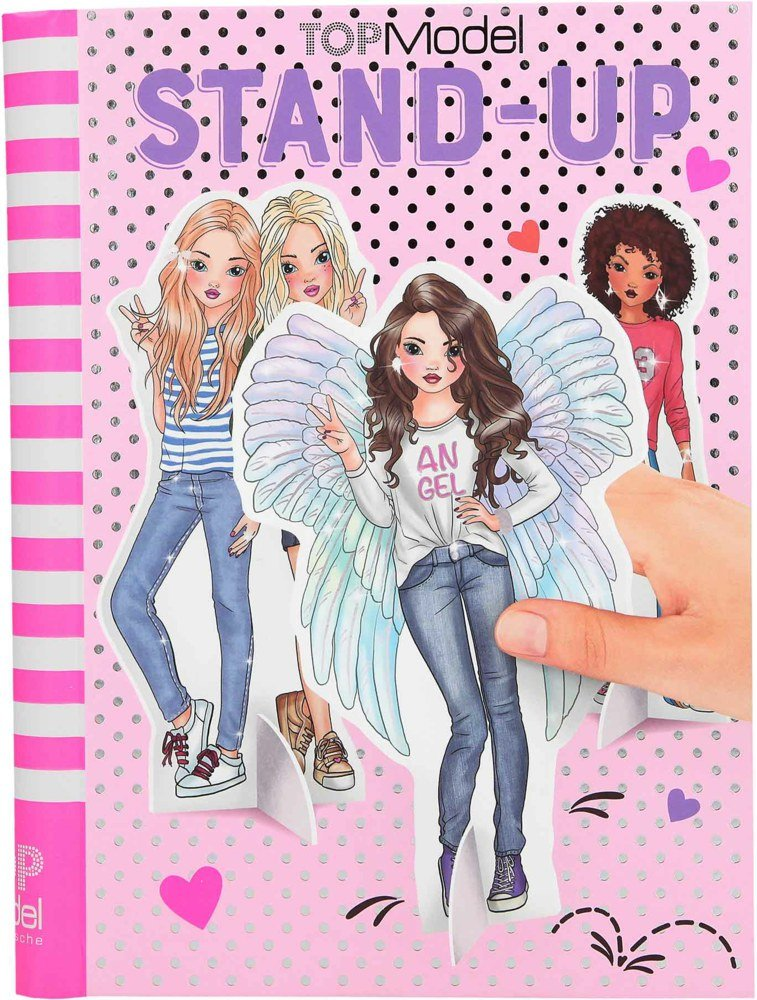 Top Model - Stand Up Models Colouring Book (0410559 )