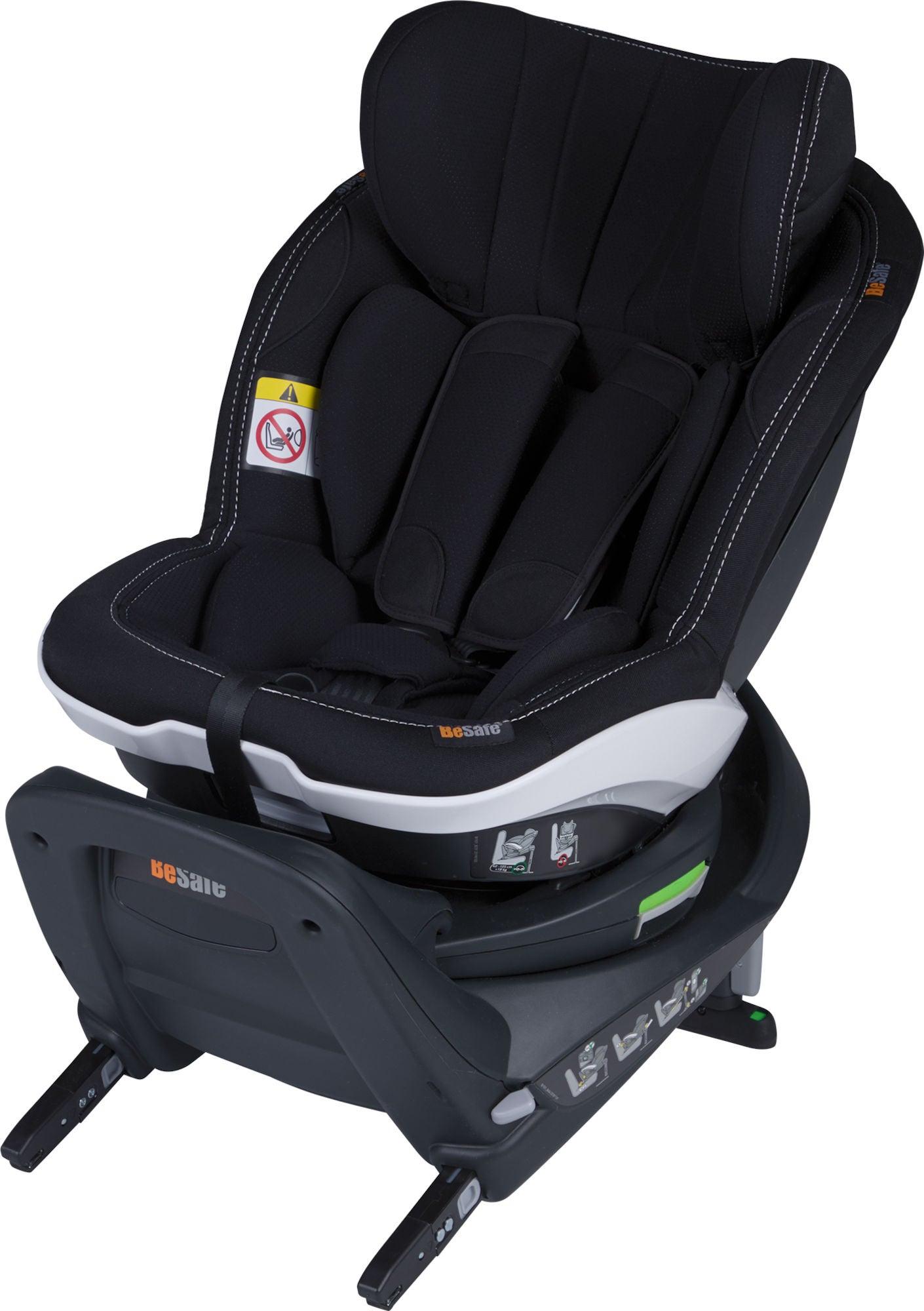 BeSafe iZi Twist i-Size Bilbarnstol, Premium Car Interior Black