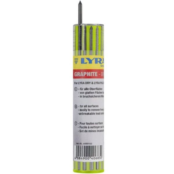 Lyra Dry Reservestift Graphite