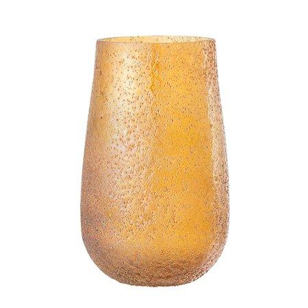 Vase Brun/Oransje Glass