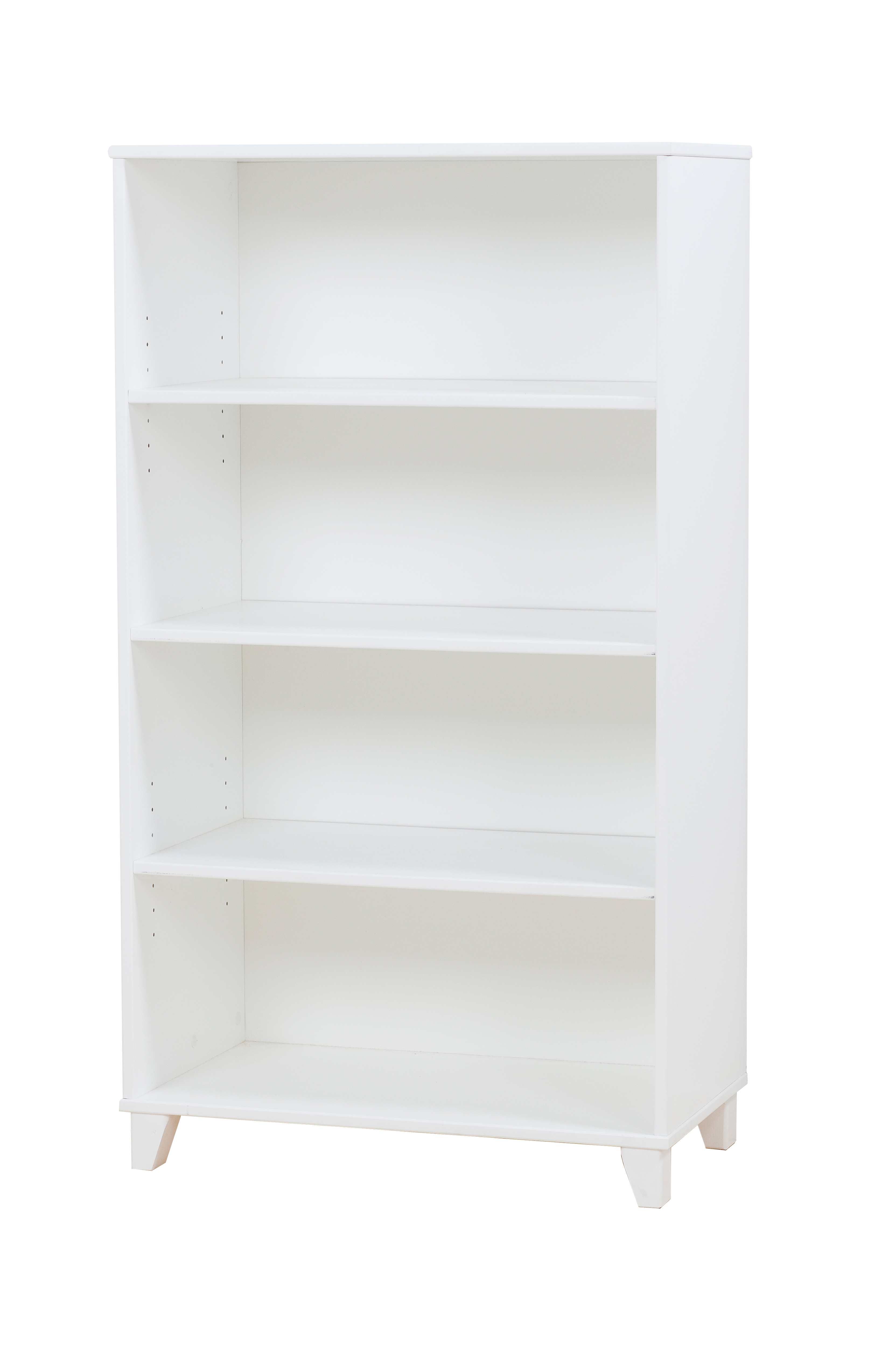 Hoppekids - PETER Bookcase with 3 shelves - White