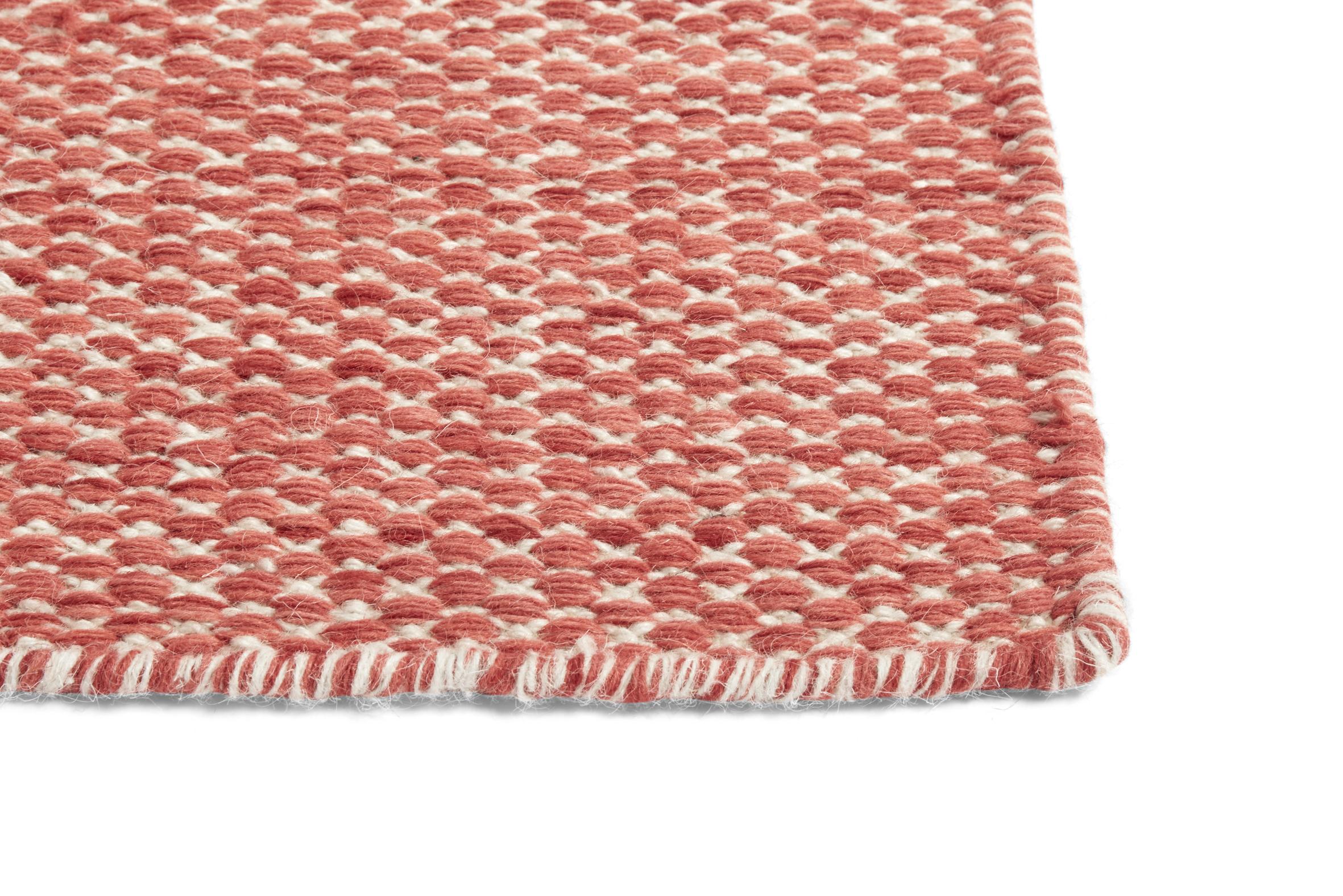 HAY - Moiré Kelim Rug 140 x 200 cm - Coral (507243)