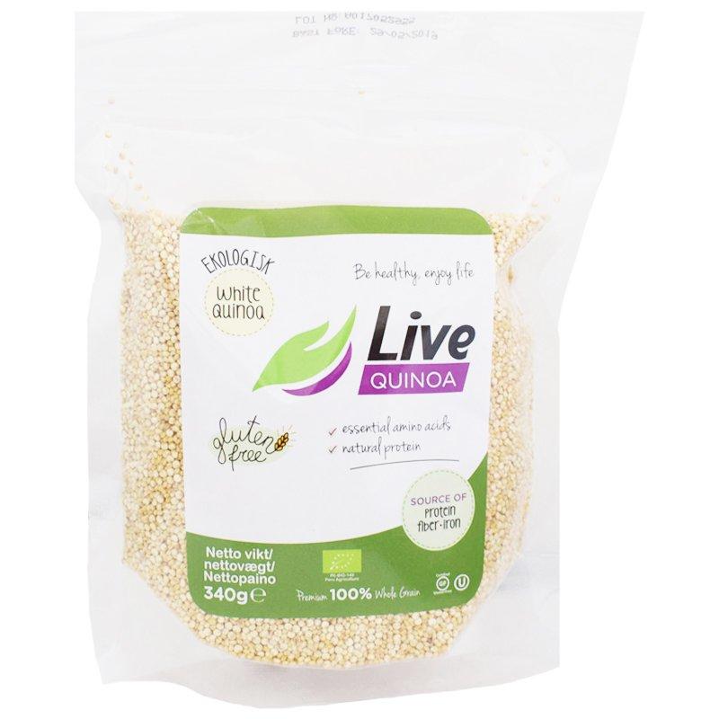 Luomu Valkoinen Kvinoa 340g - 22% alennus