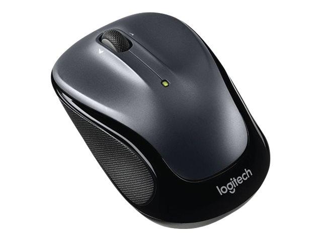 Logitech - M325 Wireless Mouse Dark Silver