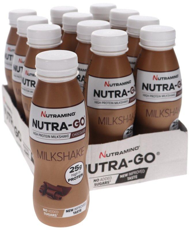 Nutra-Go Milkshake Choklad 12-pack - 44% rabatt