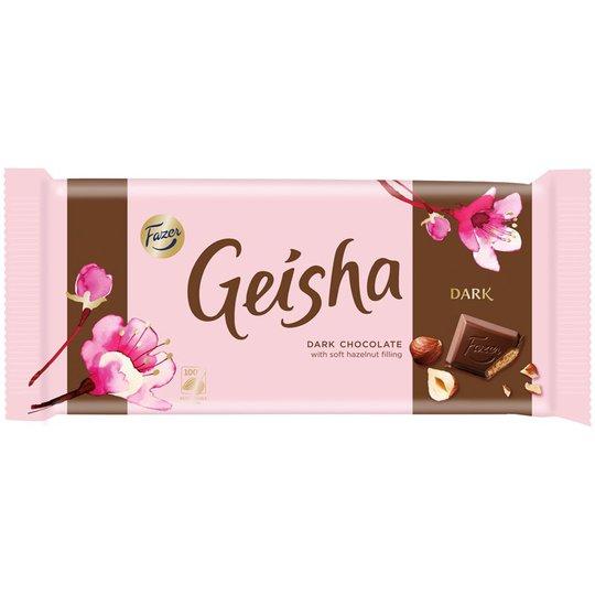 Geisha Dark Suklaalevy - 18% alennus