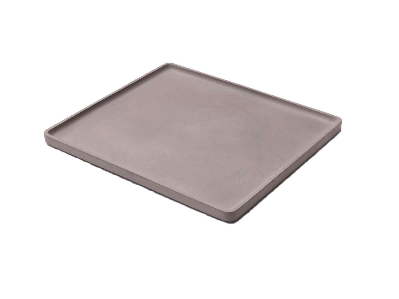 LIKEconcrete - Karin Tray Large 40 x 35 x 2 cm - Grey (93773)