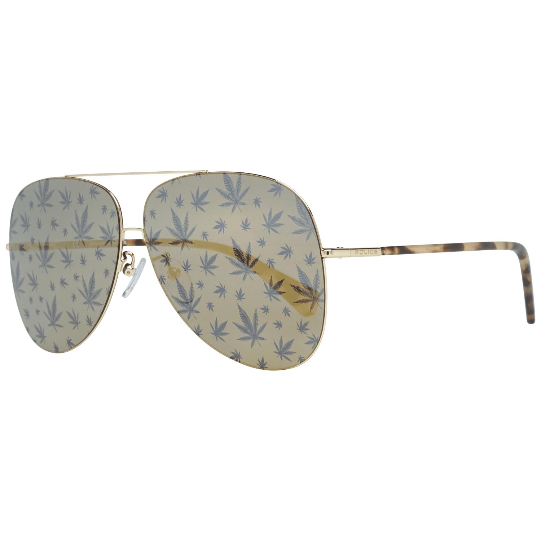 Police Women's Sunglasses Gold SPL406E62300L