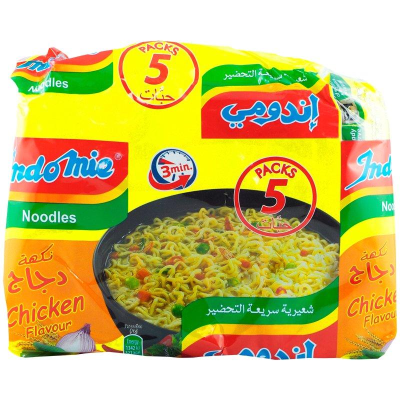 Nudlar Kyckling 5-pack - 33% rabatt