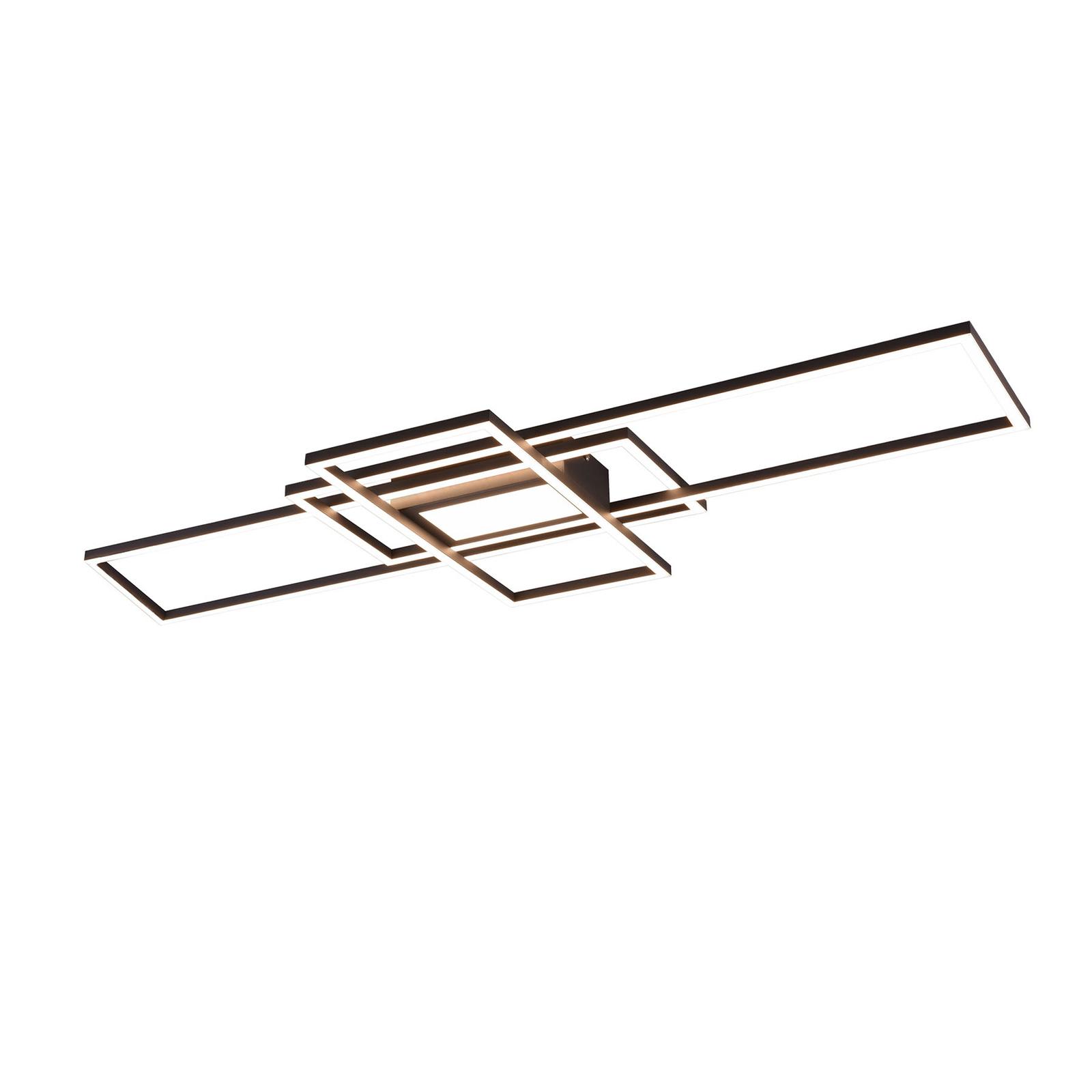 LED-kattovalo Irvine 3000-6500K LED, antrasiitti