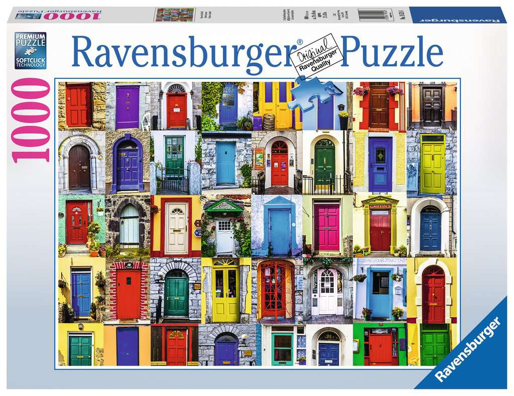 Ravensburger - Puzzle 1000 - Doors of the World (10219524)