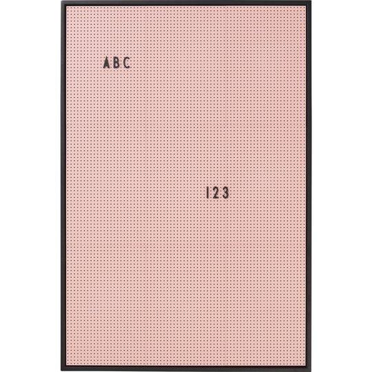 Design Letters Message Board A2, Rosa