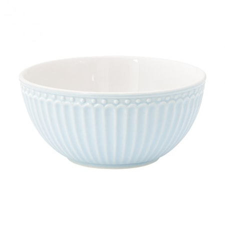 Alice Frukostskål Ljusblå