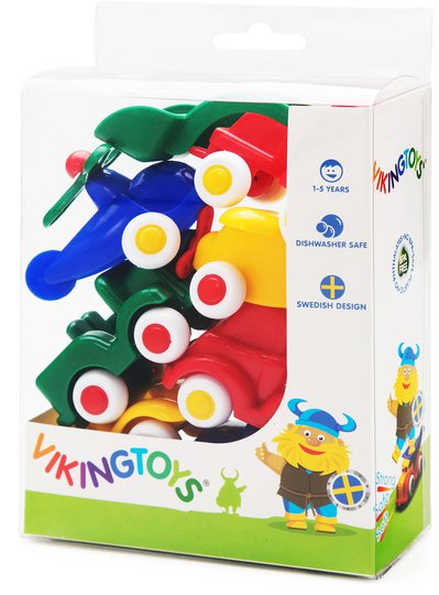 Viking Toys Kjøretøy Minitjukkaser 7-pack