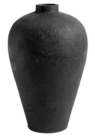 Luna Krukke Svart Terracotta 60x35 cm