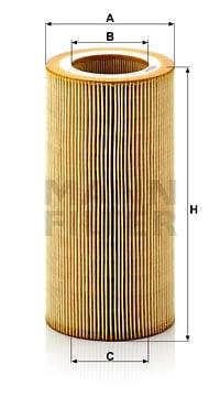 Öljynsuodatin MANN-FILTER HU 1297 x