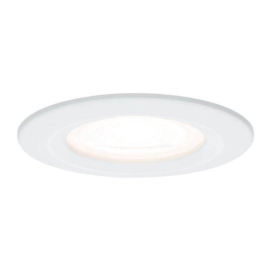 Paulmann LED-spotti Nova pyöreä, IP44, valkoinen