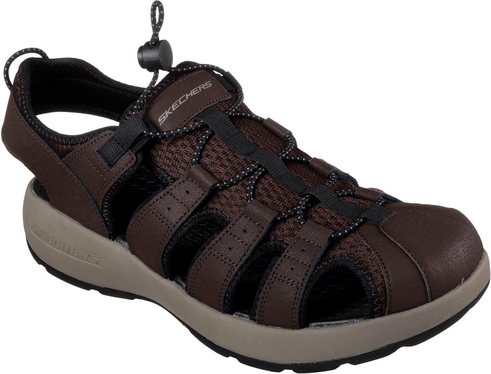 Skechers Men's Melbo Journeyman 2 Summer Sandal Brown 32212 - Brown 6
