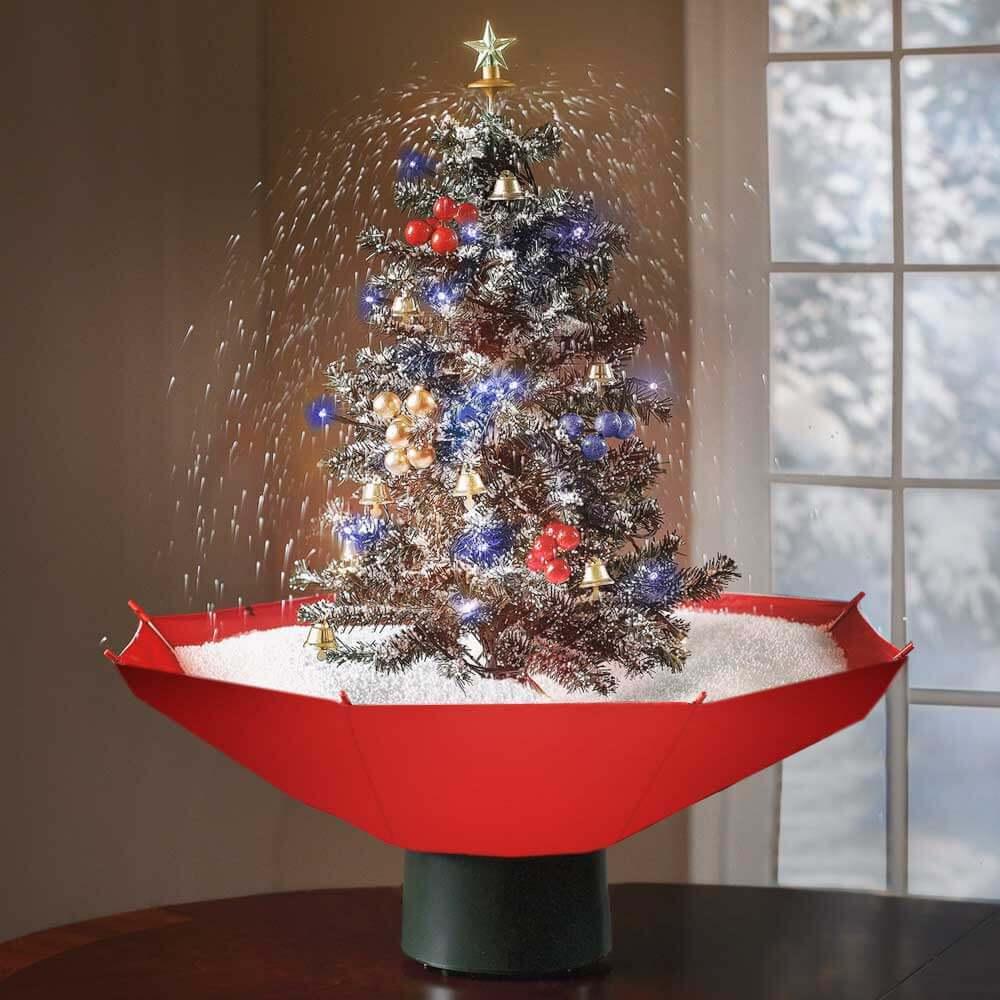 Snowing Christmas Tree 0,75 cm