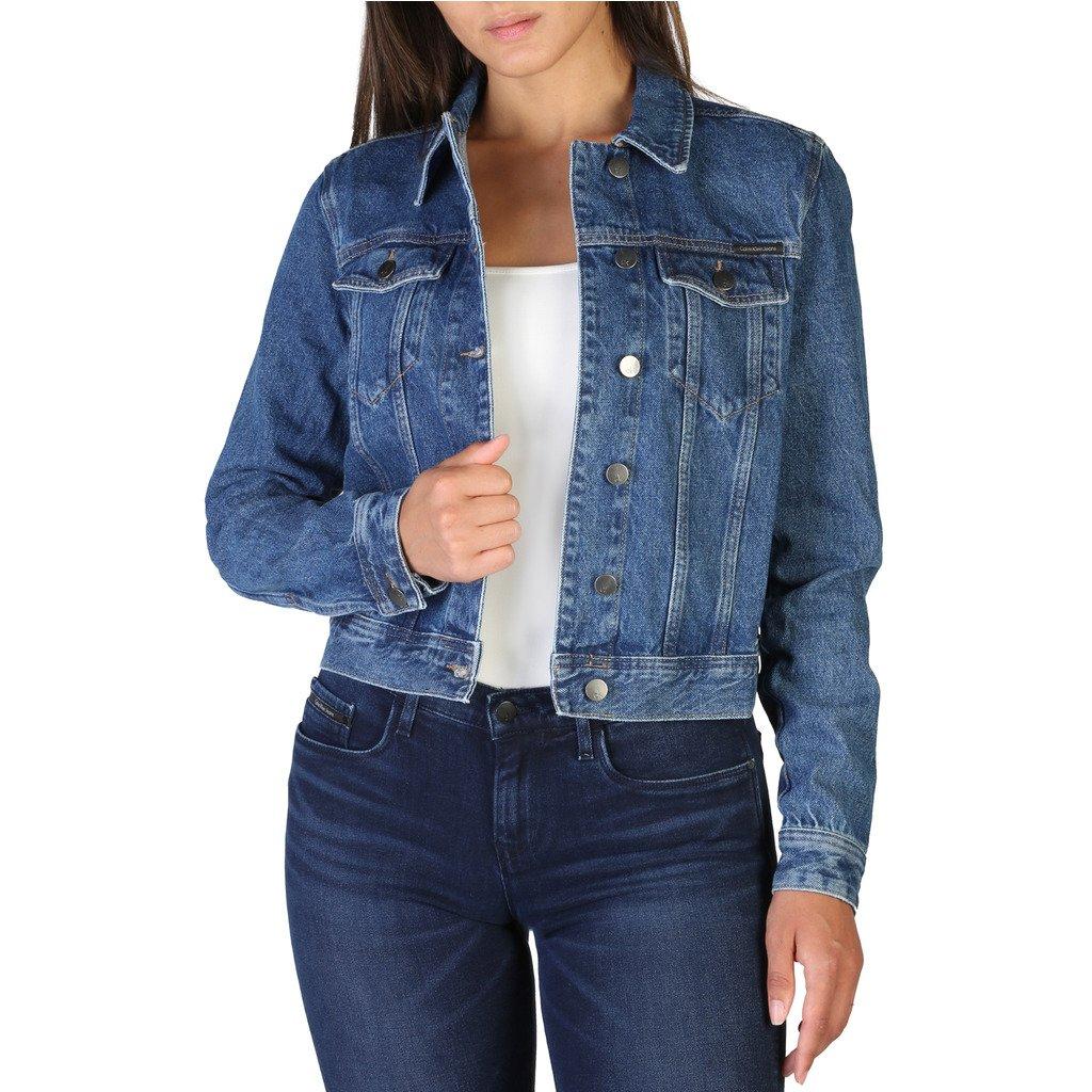 Calvin Klein Women's Jacket Blue J20J206209 - blue S